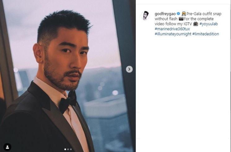 Godfrey Gao meninggal dunia karena serangan jantung (Instagram/@godfreygao)